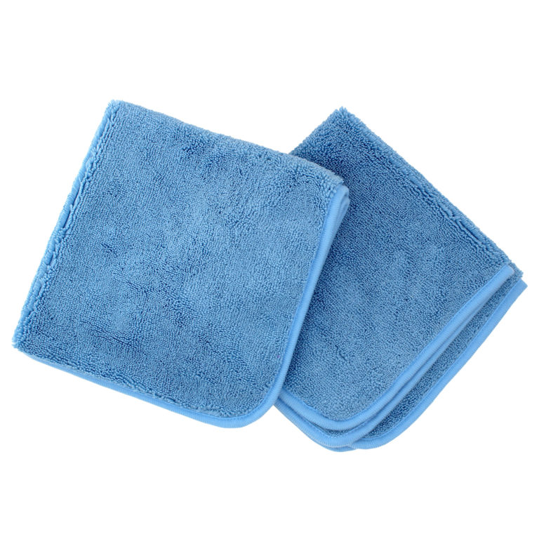 plush microfiber cleaning cloth from auto detail kit