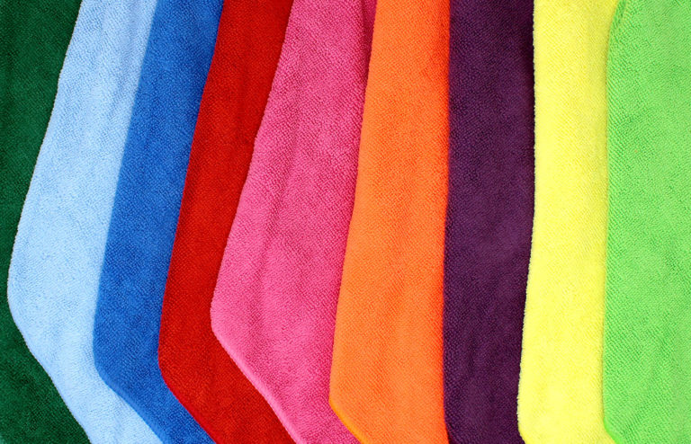 shaxon 9 pack multi-color microfiber cloths